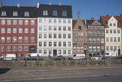 Widok dziejowi domy obrazy royalty free