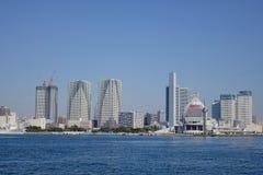Widok dzielnica biznesu w Tokio obraz royalty free
