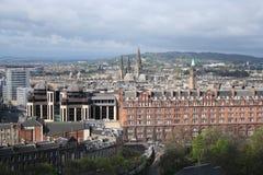 widok edinburgh zachód Zdjęcie Stock
