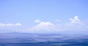 Widok Elbrus od góry Tau panorama Obrazy Royalty Free