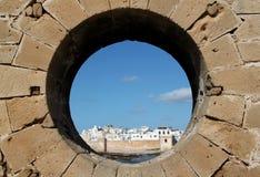 Widok Essaouira miasteczko w Maroko obrazy royalty free