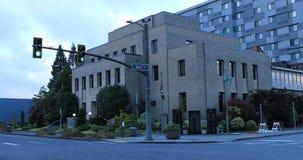 Widok Everett, Waszyngtoński urząd miasta 4K zdjęcie wideo