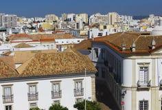 Widok Faro Faro, Portugalia (,) obrazy stock