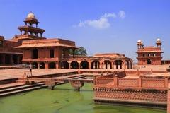 Widok Fatehpur Sikri, Agra, Uttar Pradesh, India fotografia stock