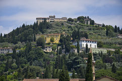 Widok Fiesole zdjęcia royalty free