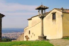 widok fiesole florenz Zdjęcie Royalty Free