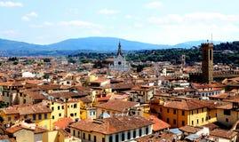 Widok Florencja z Duomo zdjęcie royalty free