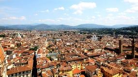 Widok Florencja z Duomo obraz royalty free