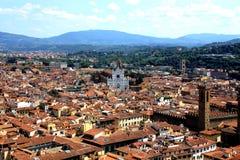 Widok Florencja z Duomo obrazy royalty free