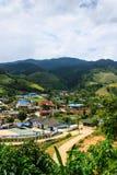 Widok formularzowy Piangluang W Wianghaeng Chiangmai Obrazy Royalty Free