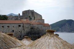 Widok forteca St Mary od plaży Fotografia Stock