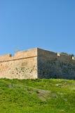 Widok forteca w Rethymnon zdjęcia stock