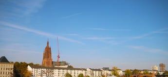 Widok Frankfurt magistrala, Niemcy - Am - fotografia stock
