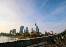 Widok Frankfurt magistrala, Niemcy - Am - zdjęcia royalty free