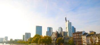 Widok Frankfurt magistrala, Niemcy - Am - obraz royalty free