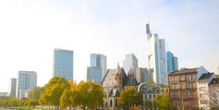 Widok Frankfurt magistrala, Niemcy - Am - zdjęcie royalty free