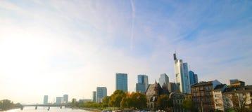 Widok Frankfurt magistrala, Niemcy - Am - zdjęcie stock