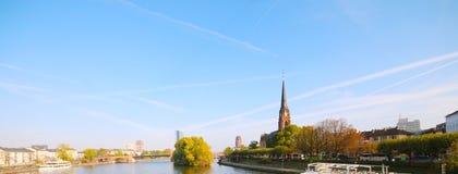 Widok Frankfurt magistrala, Niemcy - Am - fotografia royalty free
