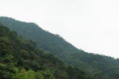 Widok góra Zdjęcia Royalty Free