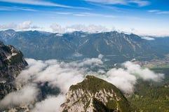 Widok górski Fotografia Royalty Free
