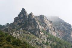widok górski Obraz Royalty Free