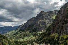 widok górski colorado obraz stock