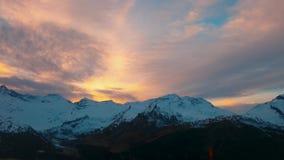 Widok górski 4k Fotografia Stock