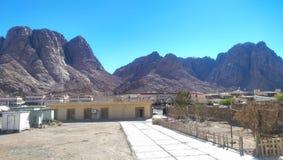 Widok górski przy świętym Catherine Zdjęcie Royalty Free