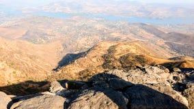 Widok górski przy dnia czasem obrazy stock