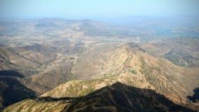 Widok górski przy dnia czasem zdjęcie royalty free