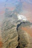 widok górski pustynny widok górski Obrazy Royalty Free