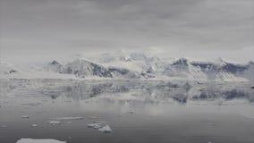 Widok górski w Antarctica zbiory