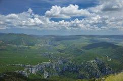 Widok górski w lecie Zdjęcia Royalty Free