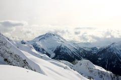 widok górski zima Obrazy Stock