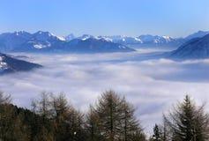 widok góry Obrazy Royalty Free