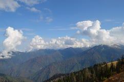 Widok góry Czarny Denny region, Turcja Zdjęcia Royalty Free