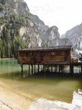 Widok góry i jezioro Fotografia Royalty Free