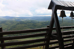 Widok góry od monasteru obrazy stock