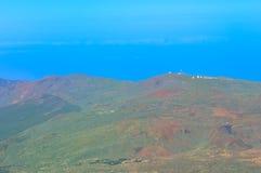 Widok góry, Tenerife, wyspy kanaryjska, Hiszpania Fotografia Royalty Free