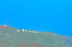 Widok góry, Tenerife, wyspy kanaryjska, Hiszpania Zdjęcia Royalty Free
