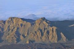 Widok góry, Tenerife, wyspy kanaryjska, Hiszpania Obraz Royalty Free