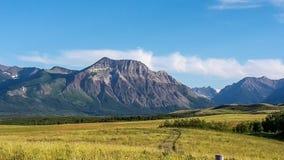 Widok góry w Canada Zdjęcie Stock