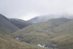Widok góry w Jeziornym okręgu, Anglia Zdjęcie Royalty Free