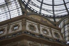 Widok Galleria Vittorio Emanuele II obrazy royalty free