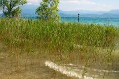 Widok Garda jezioro Obrazy Stock
