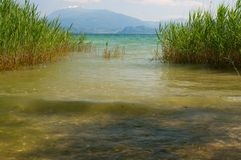 Widok Garda jezioro Fotografia Royalty Free