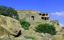 Widok Gingee fort Fotografia Royalty Free