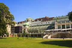 Widok Glasshouse, Wiedeń Zdjęcie Royalty Free
