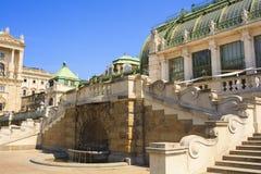 Widok Glasshouse, Wiedeń Zdjęcia Royalty Free