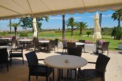 widok golfa piękny krajobraz Zdjęcia Royalty Free